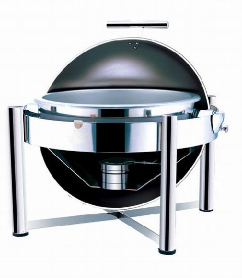 Chafing Dish Round Stainless Steel