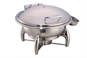 Chafing Dish with Hinged Lid