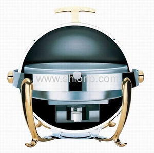 China Round Roll Top Chafing Dish
