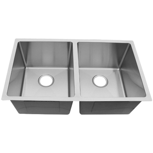China Handmade Kitchen Double Sink