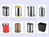 China Metal Dustbins for Sale