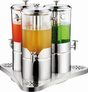 Triple Refrigerated Juice Dispenser