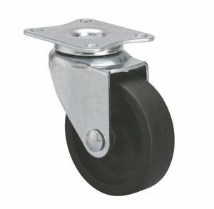 "Small Rubber Casters Mini 2"" 25kg"