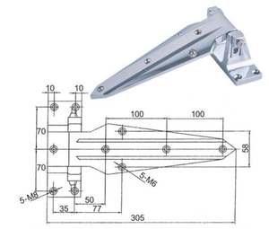 Cold Room Door Handle Suppliers