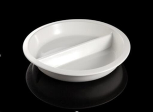Round Ceramic Food Pan