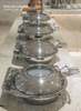 Round Roll Top Chafing Dish
