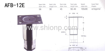 China Adjustable Stainless Steel Cabinet Legs