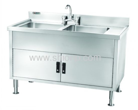 Stainless Steel Kitchen Bench with Sink